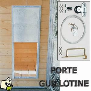 Trappe Pour Chat : trappe coulissante guillotine pour chien ~ Dode.kayakingforconservation.com Idées de Décoration