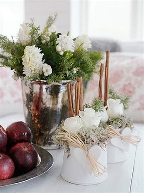 winter centerpieces 32 original winter table d 233 cor ideas digsdigs