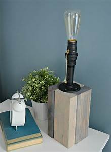 How, To, Make, Your, Own, Lamp, U2014, Decor, And, The, Dog