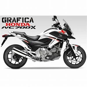 Honda Nc 700 : adesivi decal stickers honda nc700x nc 700 x racing carena ~ Melissatoandfro.com Idées de Décoration