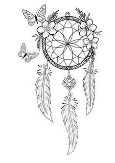 2c33a7f85829cfa36ce9da0263f00a2f--dream-catcher-drawings-dream-catcher-tattoos.jpg … | Dream