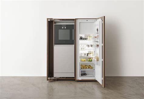 fridge kitchen cabinet bulthaup b2 kitchen appliance housing cabinet by bulthaup 1111