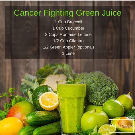 juicing vegetable juice cancer fighting guide fruit drjockers
