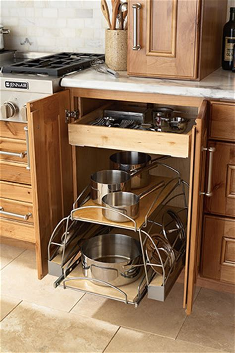 Pots And Pans Roll Out  Kitchen Drawer Organizers