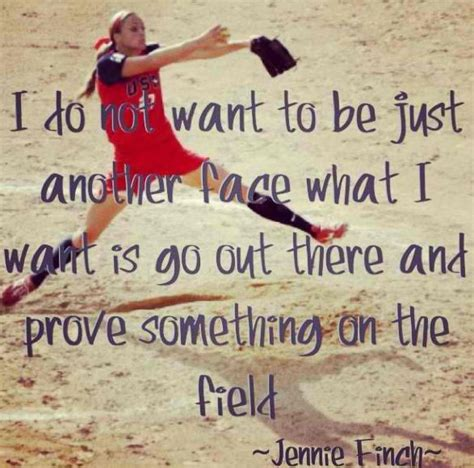 Jennie Finch Pitching Quotes