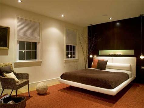schlafzimmer ideen wandgestaltung beleuchtung tolle beleuchtung im schlafzimmer bett teppich orange sofa
