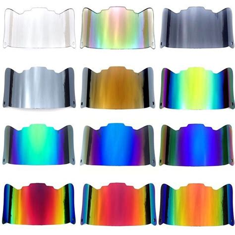 colored visors all the great looking colors of our shoc visors for