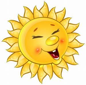 Transparent Cute Sun Cartoon PNG Clipart Picture   НЕБО ...