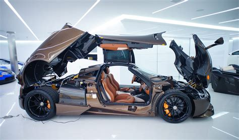 koenigsegg bugatti manny khoshbin 39 s pagani huayra hermes edition exotic car