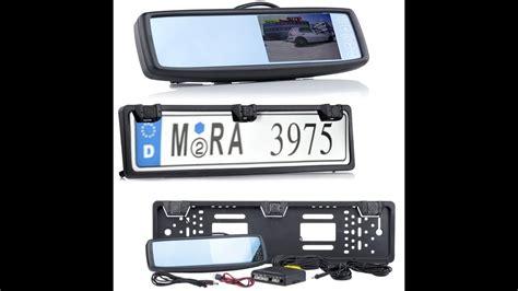 rückfahrkamera mit monitor r 252 ckfahrkamera mit einparkhilfe sensor und monitor