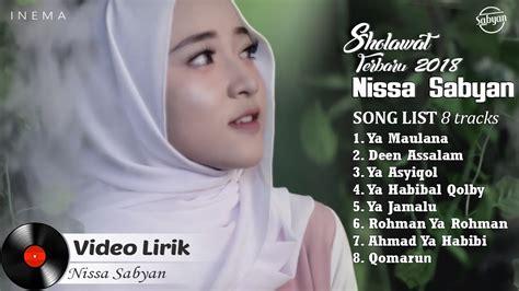 Nissa Sabyan Full Album (video Lirik)  Lagu Sholawat
