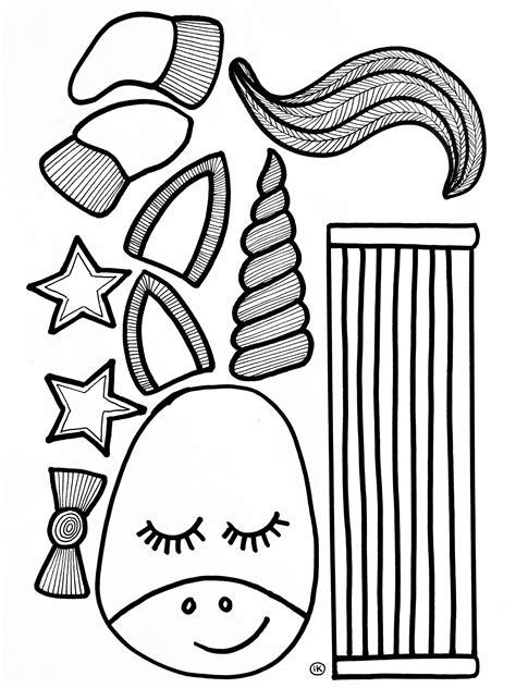 Haakpatroon boekenlegger elle eenhoorn, gemaakt van schachenmayr catania. Kleurplaat Bladwijzer Printen