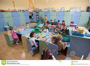 Romanian Kindergarten Classroom Editorial Photo - Image ...