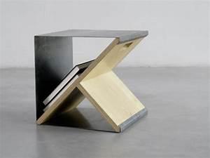 Möbel Aus Metall : coole hocker aus metall zum inspirieren ~ Markanthonyermac.com Haus und Dekorationen