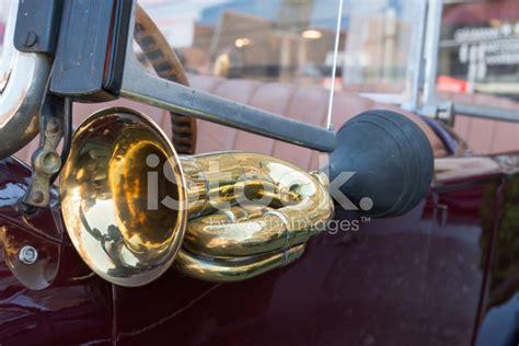 Oldtimer Car Horn Stock Photos