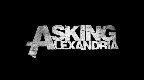 asking alexandria band rock asking alexandria logo wroc awski informator internetowy