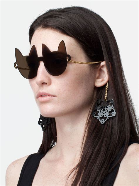 cat shaped sunglasses cat shaped sunglasses