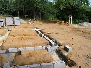fondations suite le soubassement maison poyaudine With soubassement d une maison