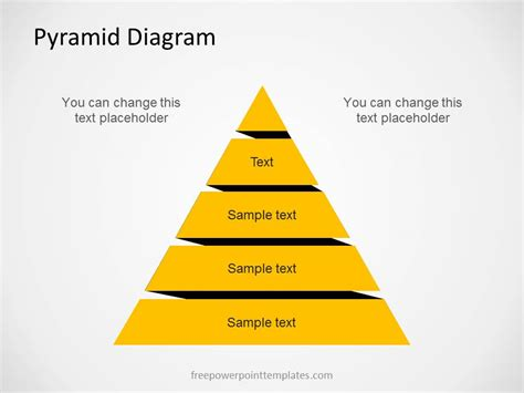Free Pyramid Diagram For Powerpoint With Levels