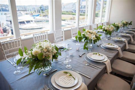 romantic elegant gray blue nautical wedding