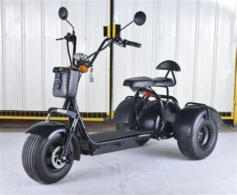 China Customized 3 Wheel Citycoco Electric Scooter