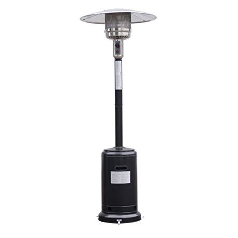 giantex steel outdoor patio heater propane lp gas w