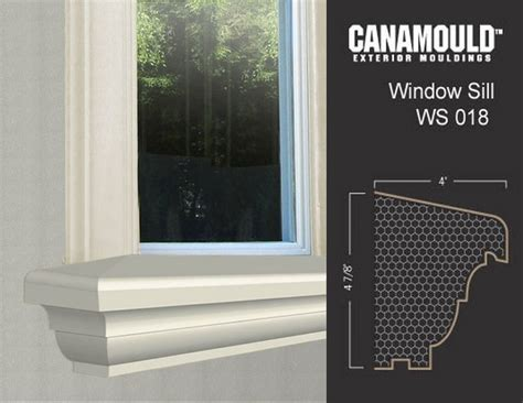 Exterior Window Sill Design by Exterior Window Sills Canamould