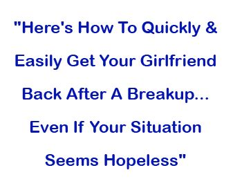 Text Your Ex Back — Recapture The Love Get Your Ex