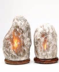 gray himalayan salt l grey himalayan salt crystal l medium with dimmer cord