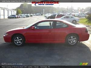 1998 Pontiac Grand Prix Gt Coupe In Bright Red Photo No
