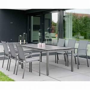 Gartentisch Und Stühle Set : stern gartenm bel set mit stuhl evoee und gartentisch aluminium hpl ~ Orissabook.com Haus und Dekorationen