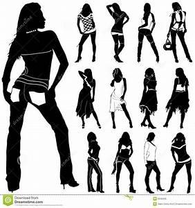 Fashion women vector stock vector. Image of pretty, desire ...