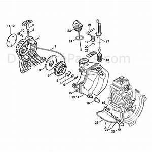 Stihl Ht 101 Pole Pruner  Ht101  Parts Diagram  Rewind Starter