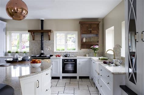 Beautiful Kitchen Design With Marble And Natural Wood