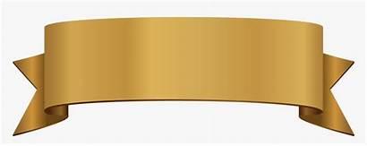 Ribbon Title Clipart Pattern Euclidean Transparent Golden