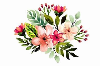 Tropical Clipart Watercolor Pineapple Floral Tropischen Aquarell