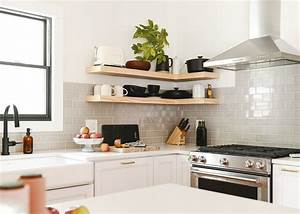 A, Case, For, Open, Shelves, In, The, Kitchen