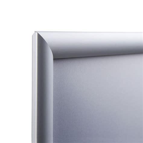 auf gehrung sä display klapprahmen 25 mm 84 1x118 9 cm a0 ecken auf