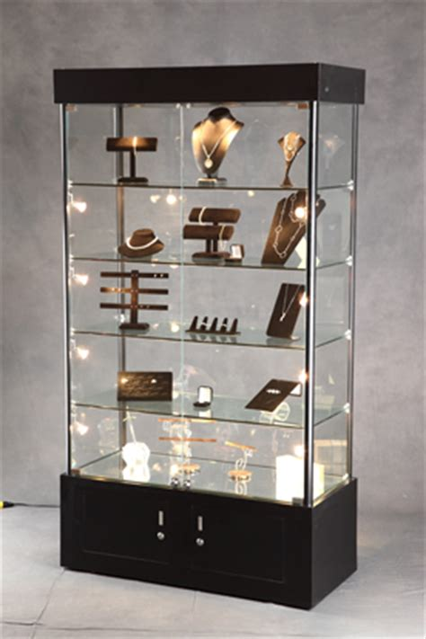 lighted tower display display cabinet lighted