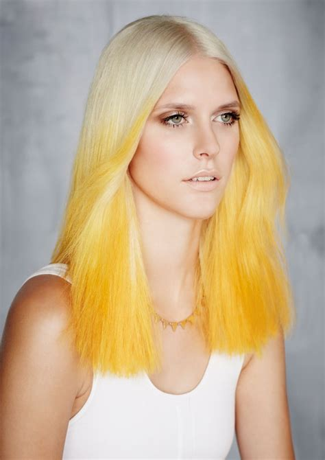 My Hair Is Bleach Blonde And What Color Should I Dip Dye