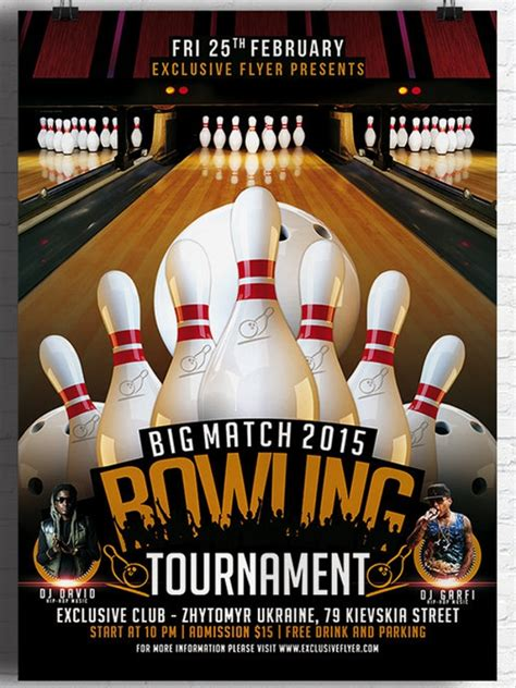 bowling invitation templates sample templates