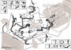 2008 Bmw 335i Coolant Hose Diagram