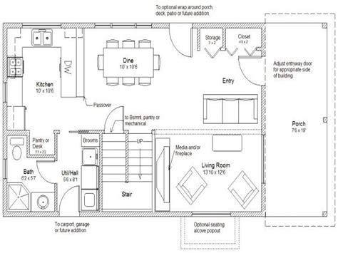house plans story cabin floor plan