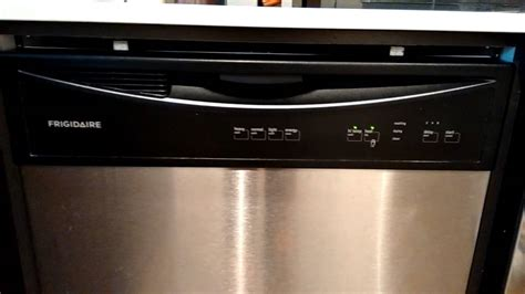 frigidaire dishwasher lights blinking frigidaire dishwasher lights blinking wont start