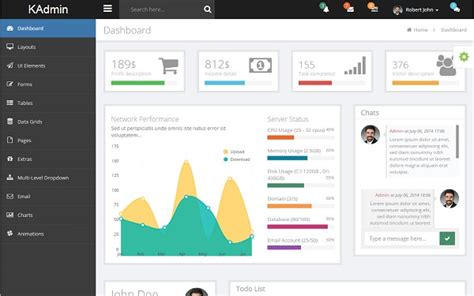 33 Template Admin Bootstrap Gratis & Responsive