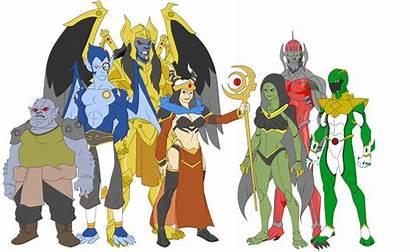 Power Rangers Villains Ranger Deviantart Sentai Rita