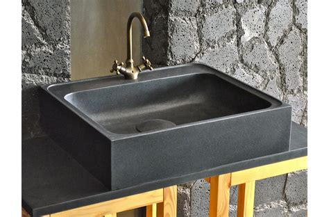 evier noir cuisine 70 x 60cm évier de cuisine en granit noir véritable