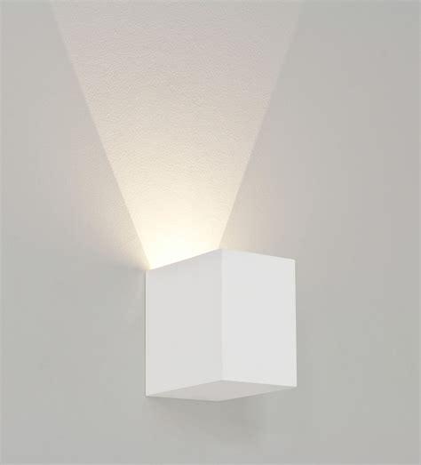 astro parma 100 7019 1 3w led 3000k cree rectangular wall light ip20 plaster liminaires