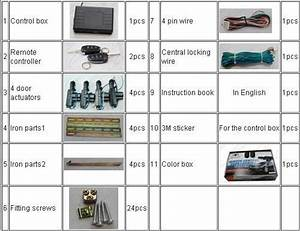 Remote Car Central Locking System With Window Closer