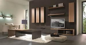 Etagere Murale Pour Tv : meuble de rangement haut design meuble haut 1 porte pour salon ~ Teatrodelosmanantiales.com Idées de Décoration